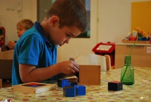 montessori skolka aktivity